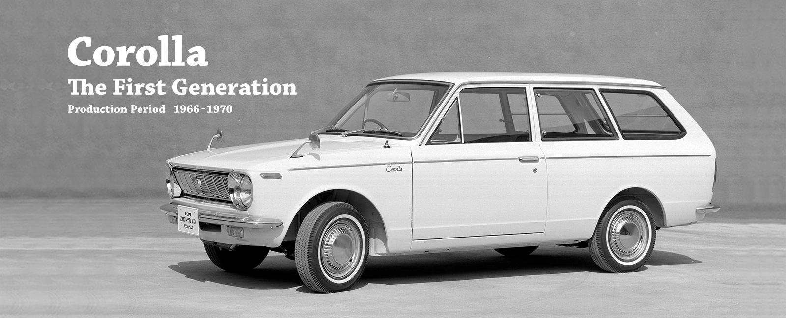 L'histoire de la Toyota Corolla en accéléré !