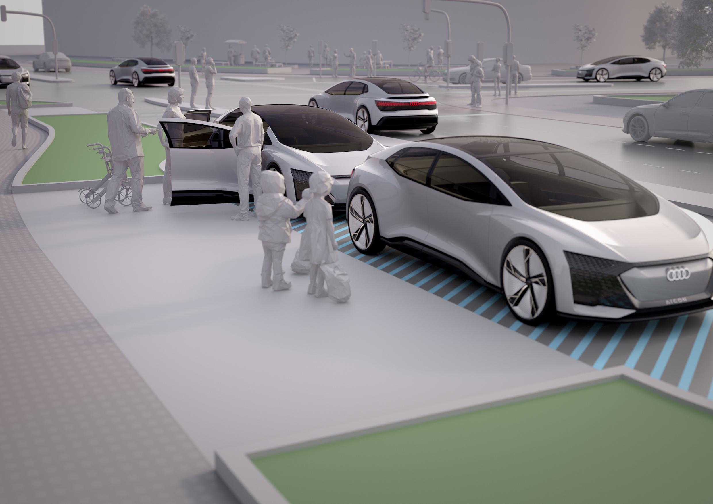 Avec Audi, bienvenue en 2019 et au-delà ! !