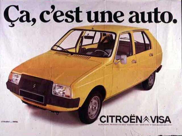 C'est Halloween : fêtons les 40 ans de la Citroën Visa !