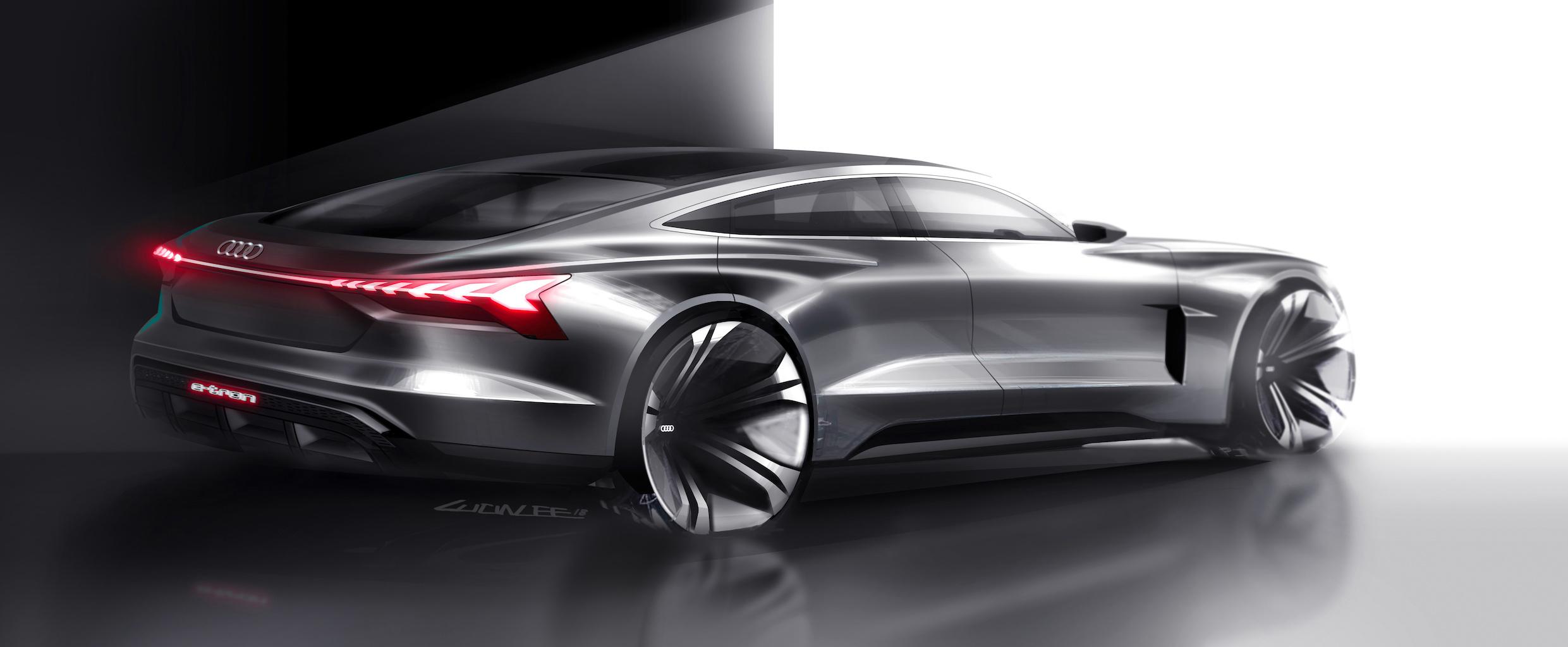 L'AUDI e-tron concept GT, nouvelle étape 100% électrique du groupe VW