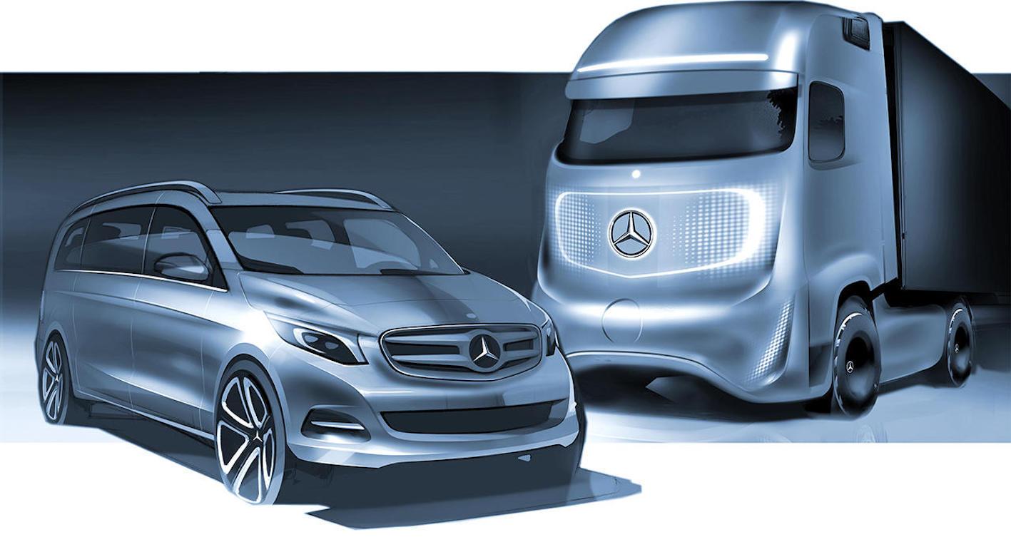 """Interview de Benoît Tallec : l'univers du design de """"Daimler Trucks""""… et la vie d'expatrié."""