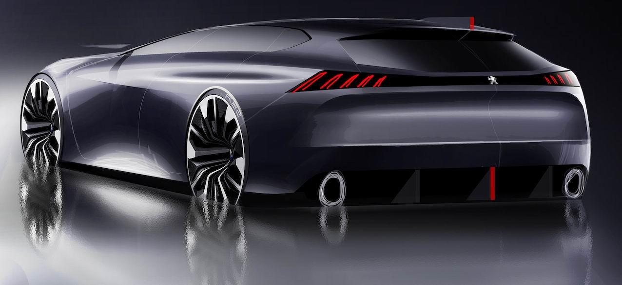 Peugeot 508 SW, côté design…