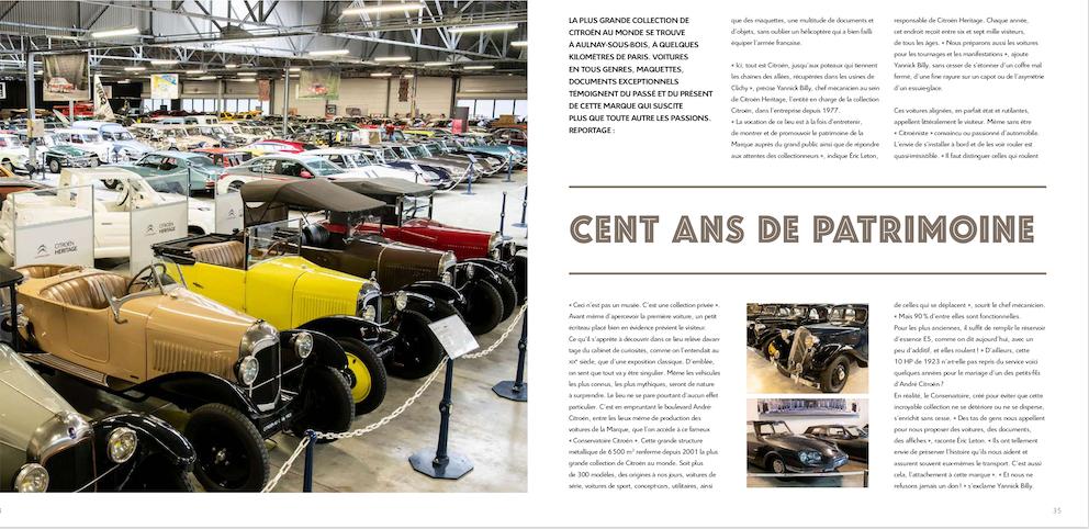 Citroën vous offre le catalogue 'collector' spécial centenaire