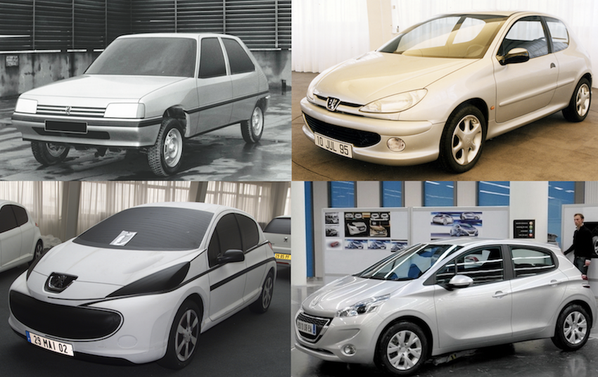 De la 205 à la 208 : la saga des Peugeot qui comptent