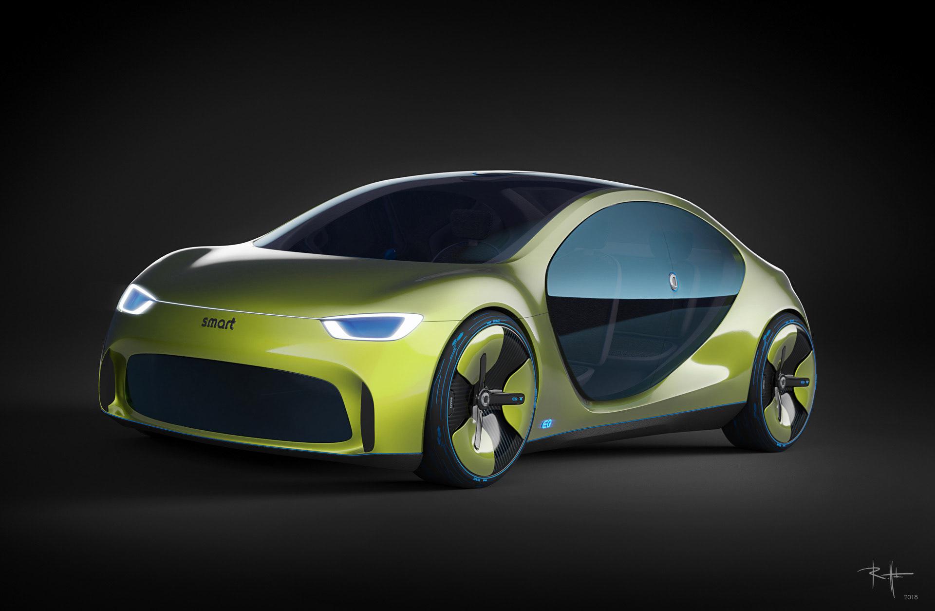 EQ4 : la Smart qui veut concurrencer Tesla !