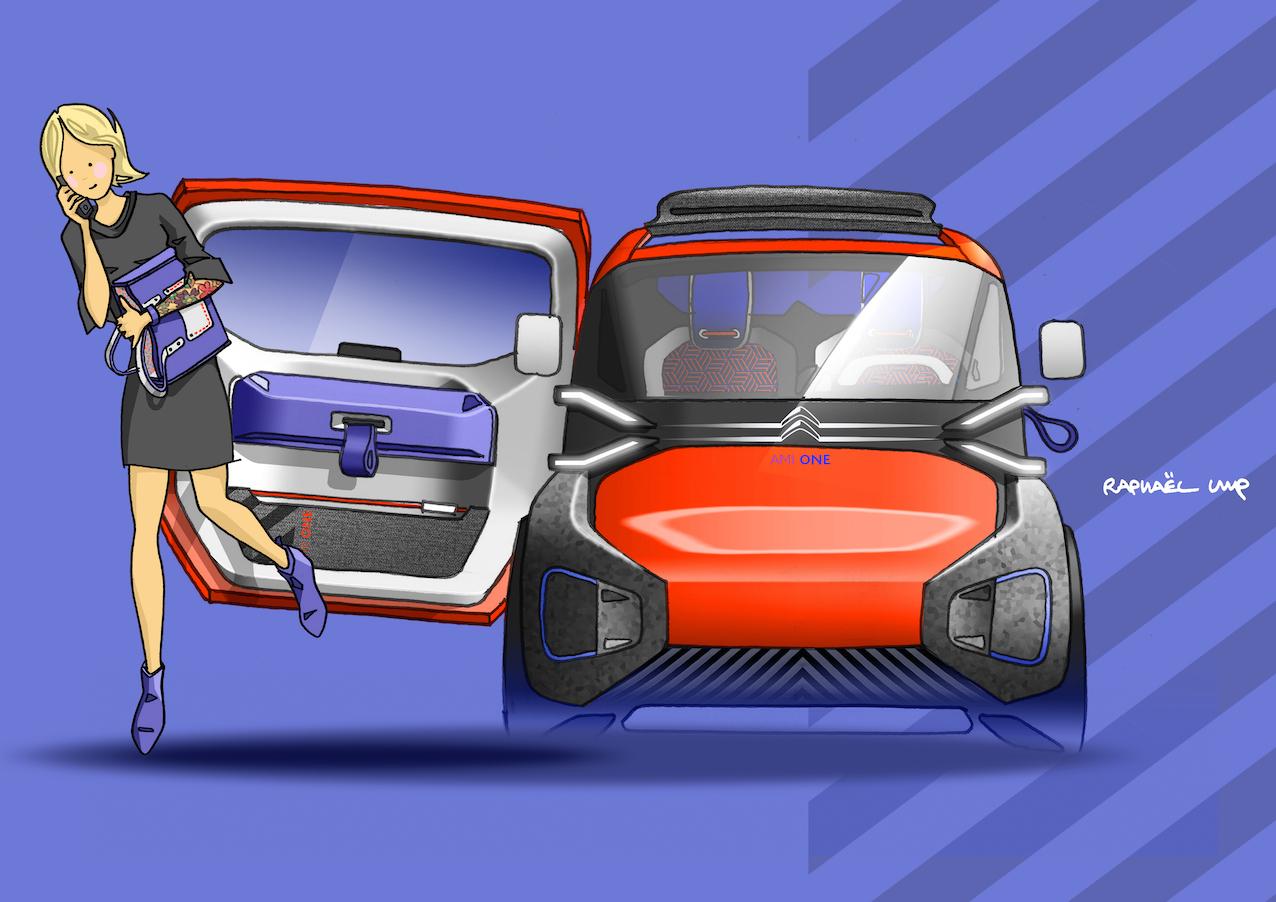 Citroën AMI ONE : quand la Deuche couche avec votre Smartphone ! (1/5)