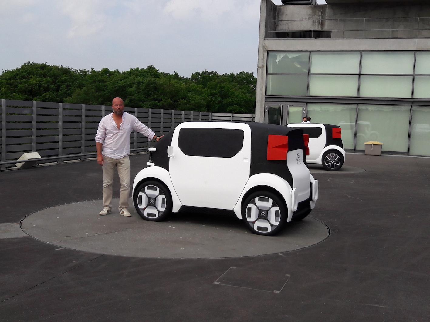 Citroën AMI ONE vue par son designer extérieur (2/5)