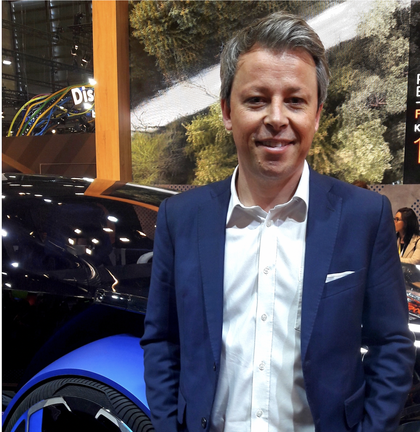 ENGLISH  Interview with Pierre Leclecq, Citroën design director, at Viva-Tech