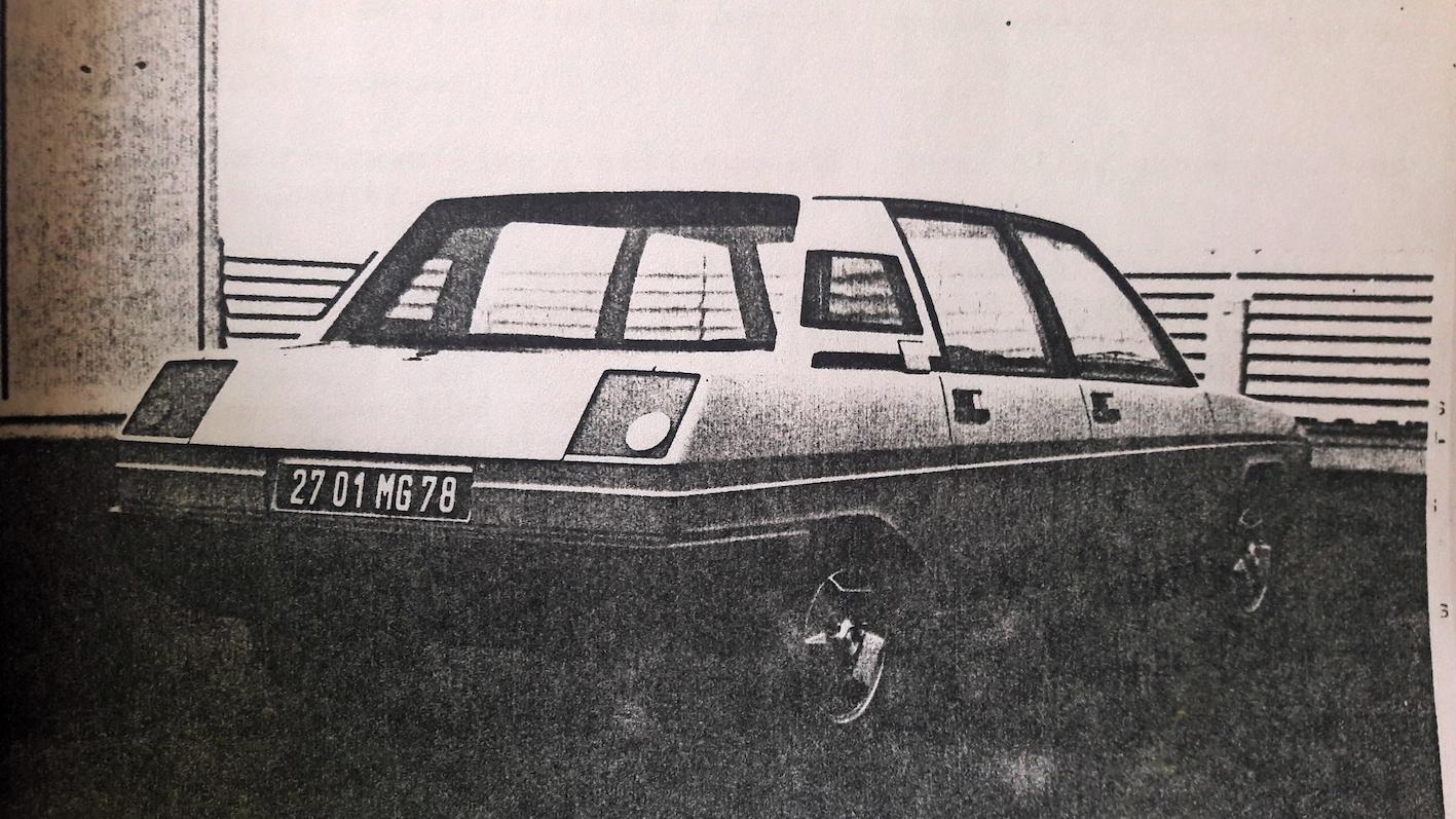 L'après Rétromobile : la R9 de Gandini, inspirée de sa Ferrari Rainbow