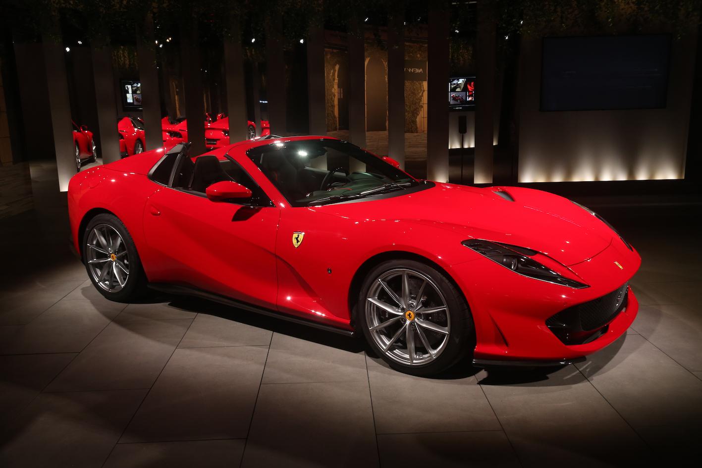 Flavio Manzoni, directeur du design Ferrari, évoque la 812 GTS
