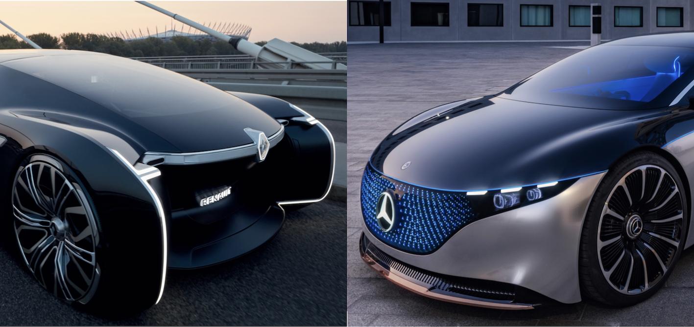 Limousine du futur : Renault remporte son duel face à Mercedes !