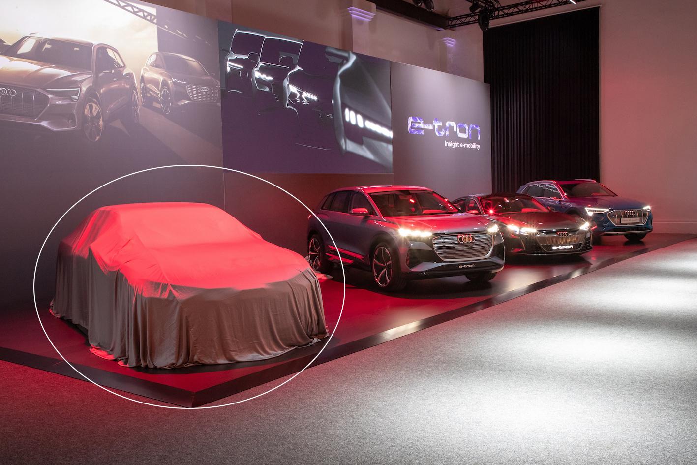 Mis à jour : la mystérieuse future Audi et sa nouvelle plateforme électrique !