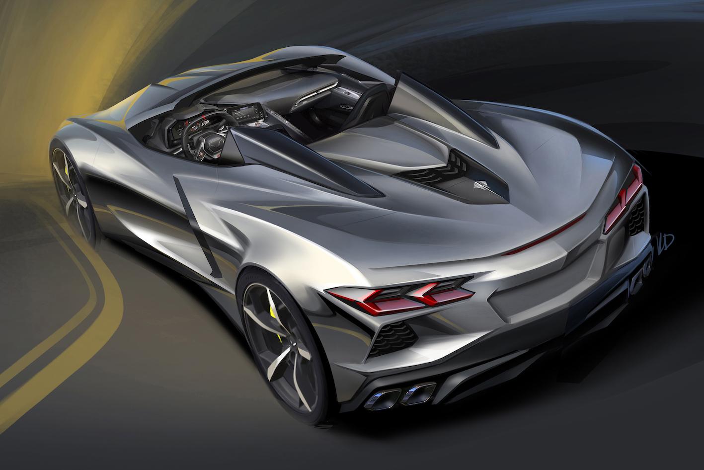 Nouveauté 2020 : Corvette Stingray convertible – VIDEOS