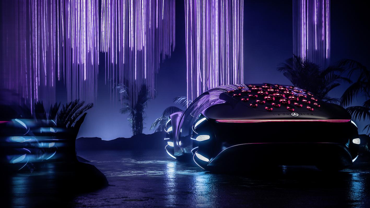 Mercedes AVTR : quand le futur s'inspire du cinéma VIDEO