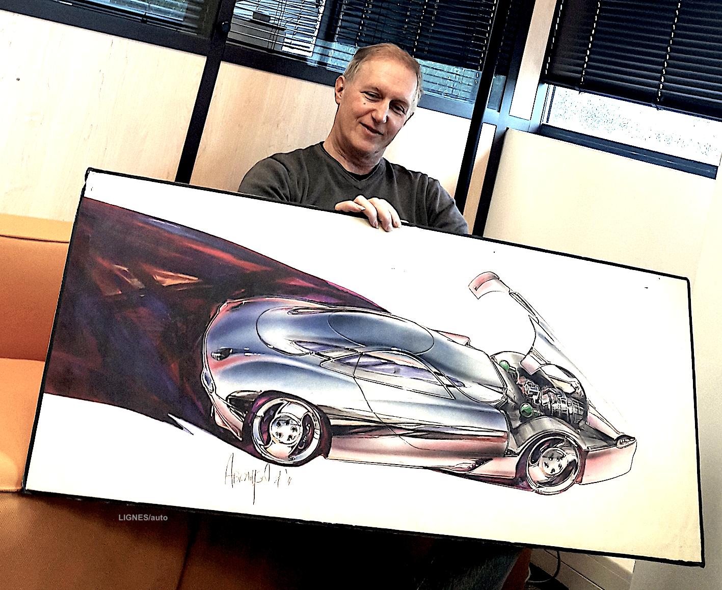 La longue interview : Dan Abramson, 24 ans de design Citroën !