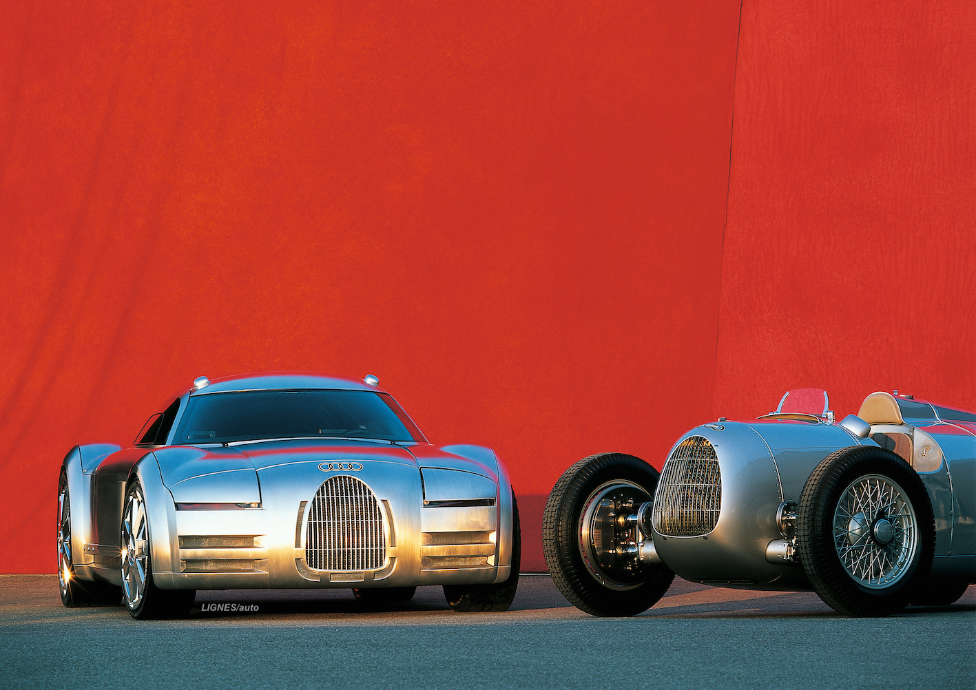 ENGLISH – The Audi Rosemeyer is twenty years old
