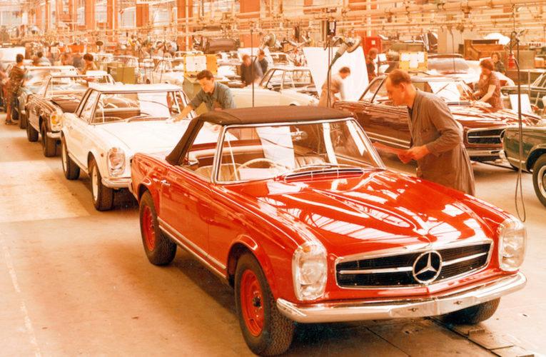 Retour à l'usine. Les archives Mercedes