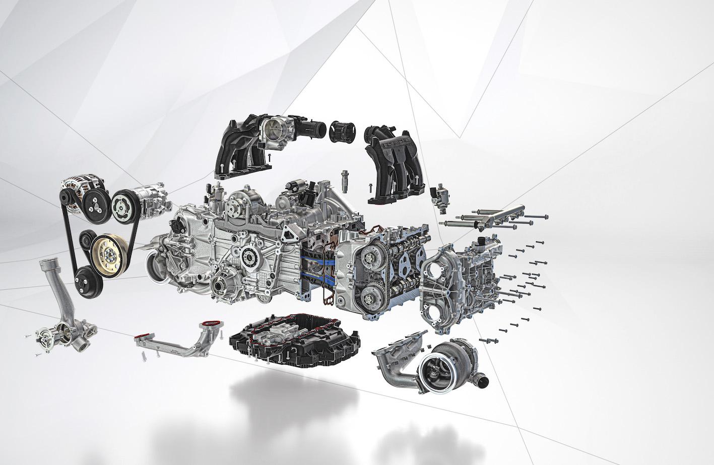 Turbo-graphique : les Porsche turbo dévoilent leurs cœurs – FR/UK