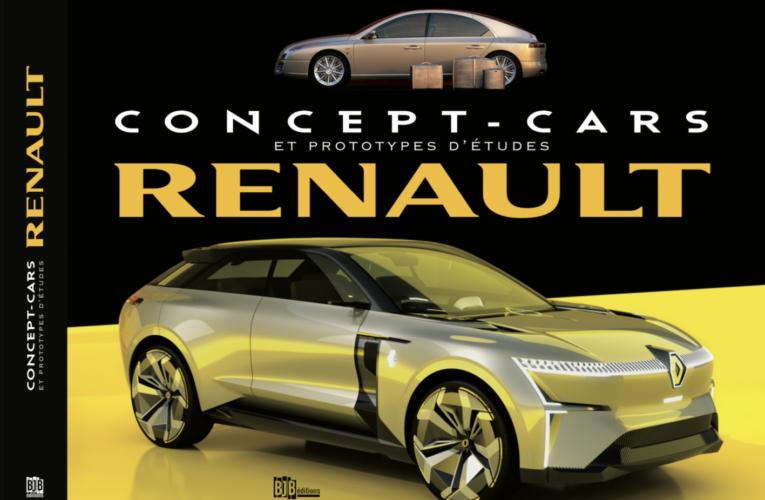 Le livre Renault Concept-cars : le sommaire