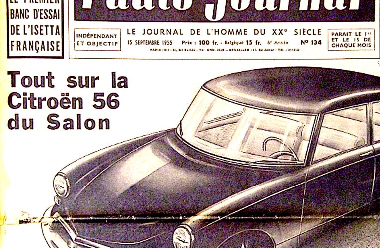 Archives Citroën DS : le texte du scoop de l'auto-journal de 1955