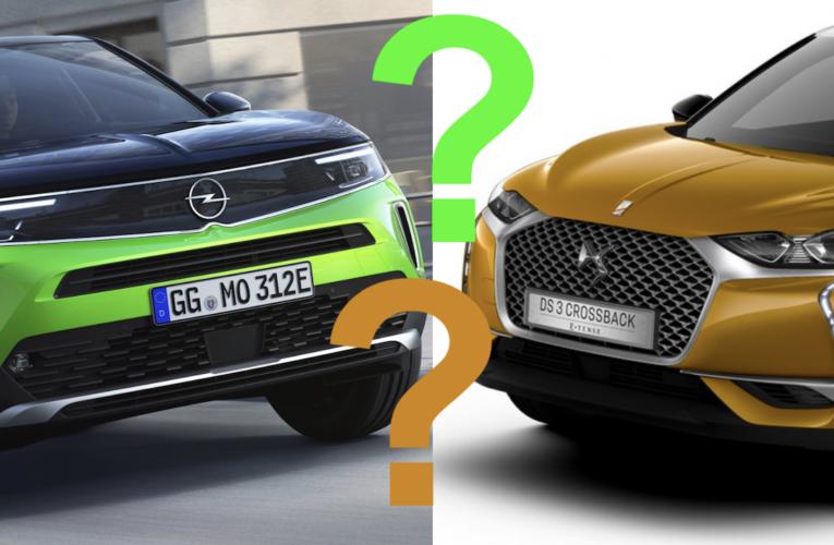 Plutôt DS3 Crossback ou Opel Mokka ?