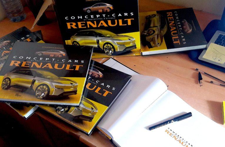 """Le nouveau livre """"Concept-car et prototypes d'études Renault"""" est arrivé"""