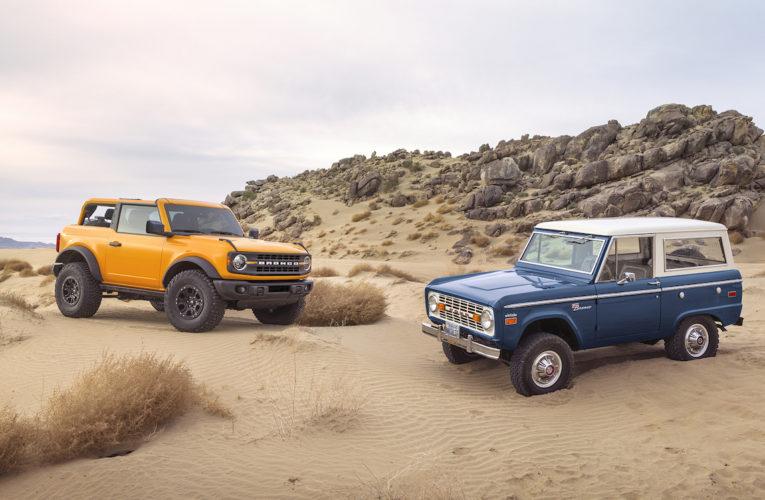 F/UK – Ford Bronco 2020 : la vidéo et toutes les générations