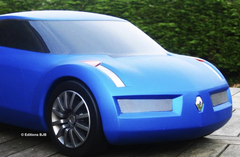 """FR/UK – L'Alpine """"berlinette"""" de 2001 est à découvrir dans le livre """"Concept-cars Renault"""""""