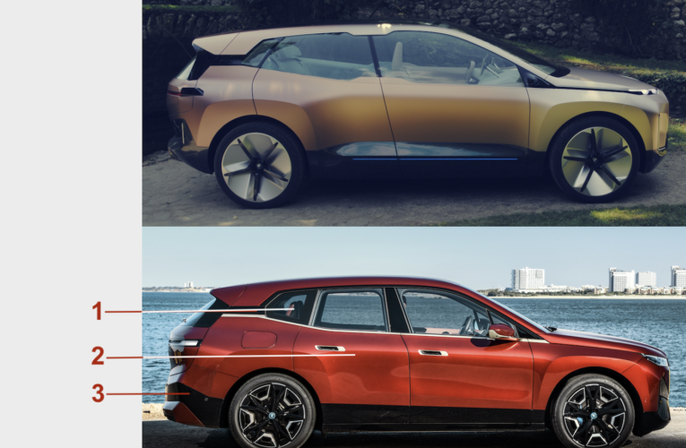 BMW iX: from the concept to the series, from the continuation of ideas