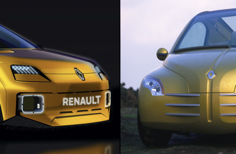 25 years later, the Renault 5 EV heir to the Fifties!