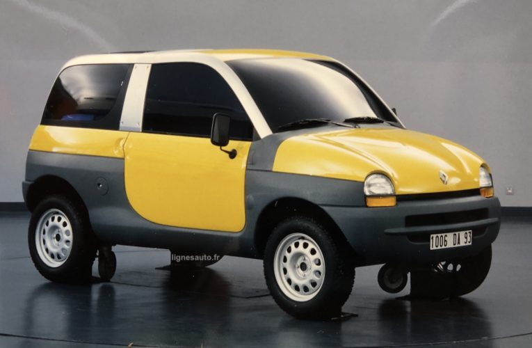When Renault imagined a Twingo SUV!
