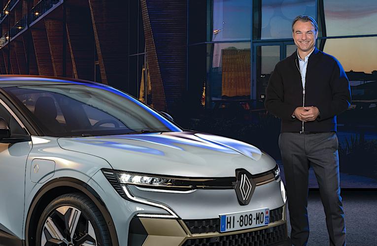 Renault Mégane E-TECH Electric : interview de Laurens van den Acker