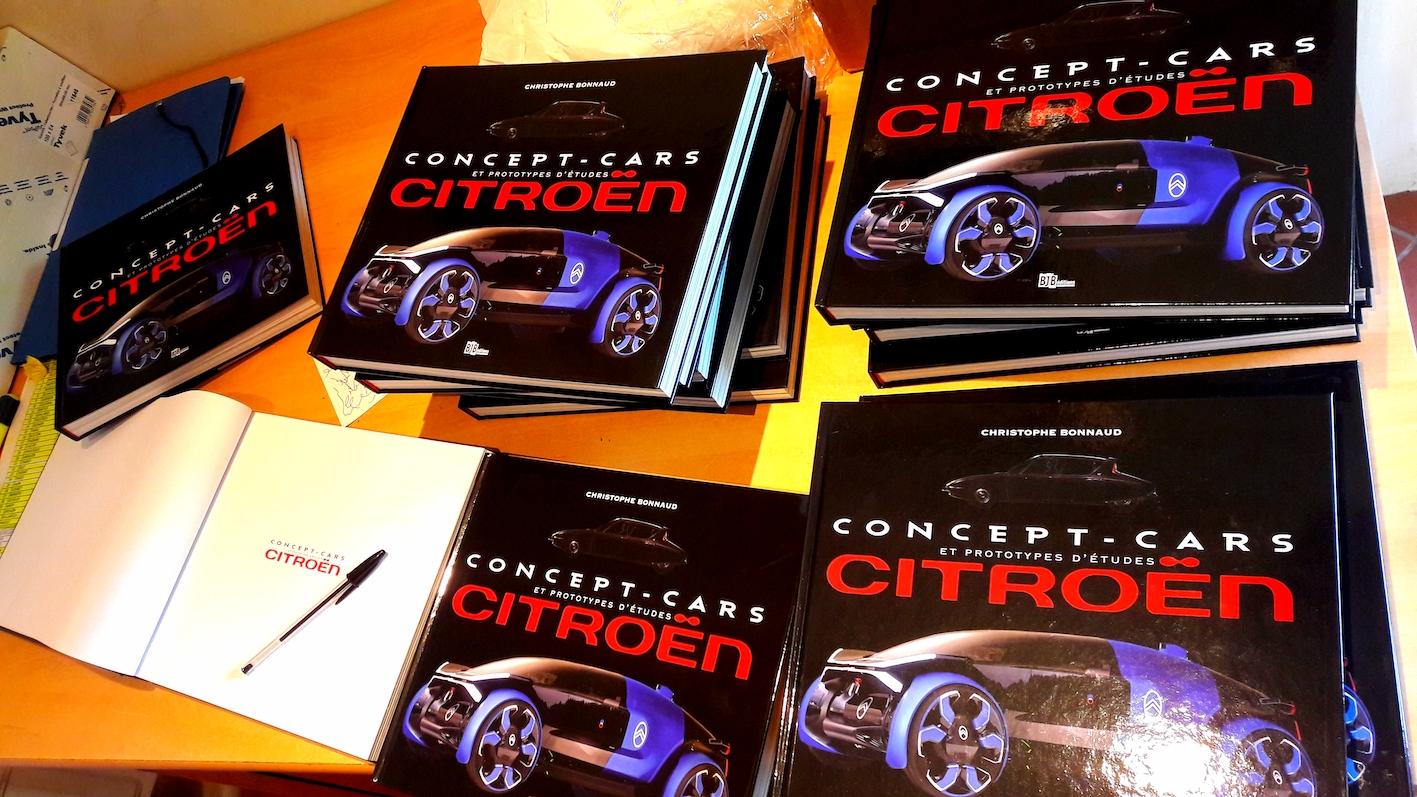 """Disponible : """"Concept-cars et prototypes d'études Citroën"""", ouvrage de référence."""