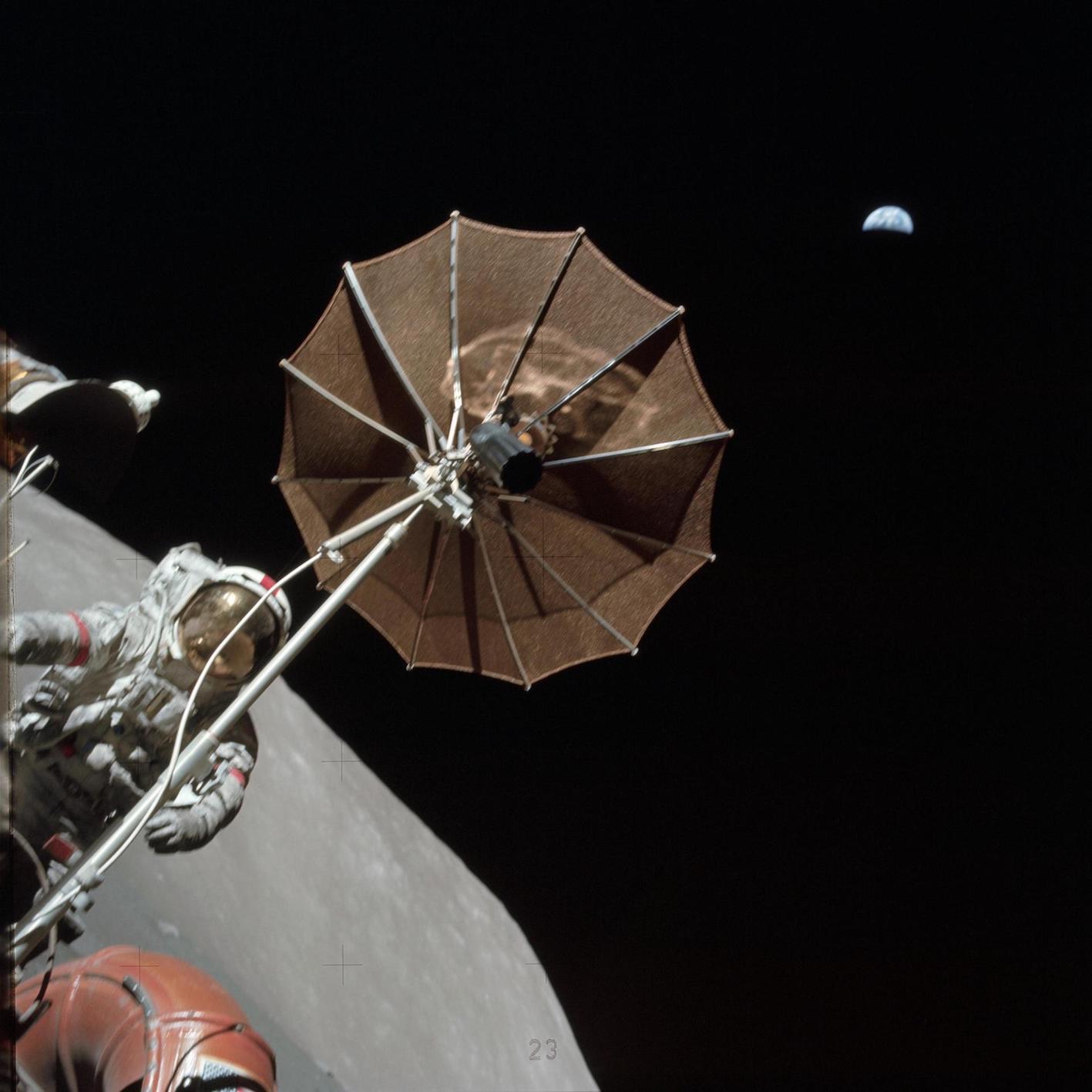 1971-2021 : Il y a cinquante ans, l'homme roulait sur la Lune!