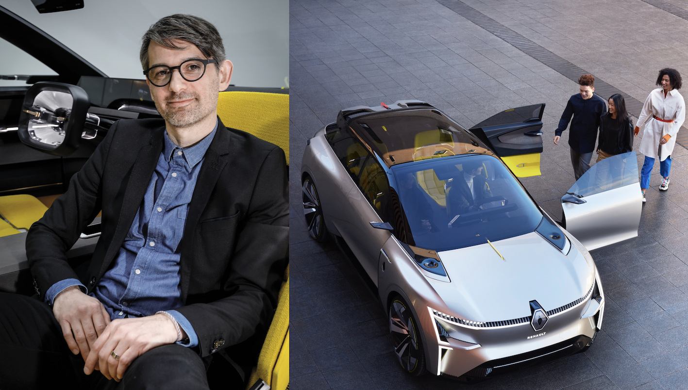English Renault Morphoz Interview With Francois Leboine Head Of Concept Car Design Design Actualite Archives