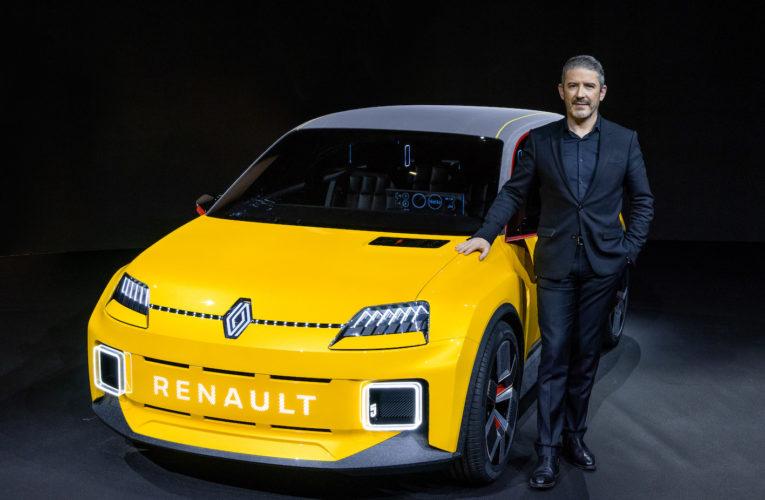 Gilles Vidal nous parle de la R5 EV. Gilles Vidal tells us about the R5 EV.
