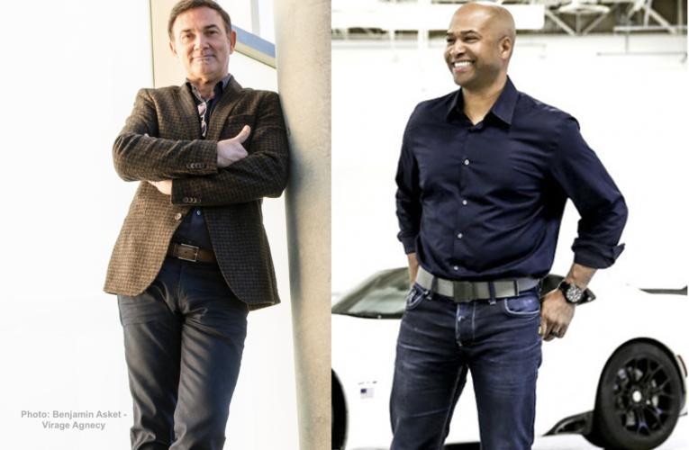 Jean-Pierre Ploué et Ralph Gilles, nouveaux maîtres du design Stellantis