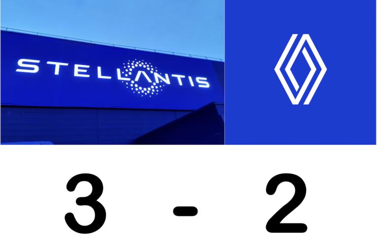 Mercato des designers, Stellantis : 3 Renault : 2