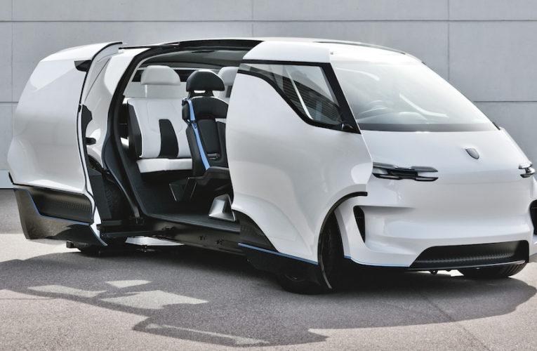 Bienvenue à bord du concept Porsche Vision Renndienst
