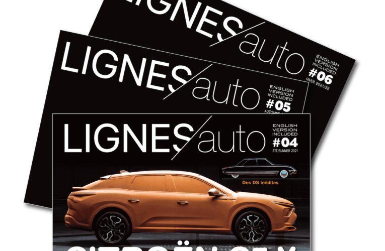 Abonnez-vous à LIGNES/auto trimestriel ! Subscribe to LIGNES/auto quarterly!